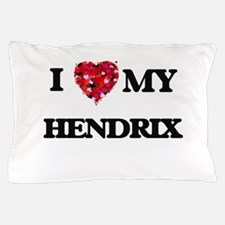 I Love MY Hendrix Pillow Case