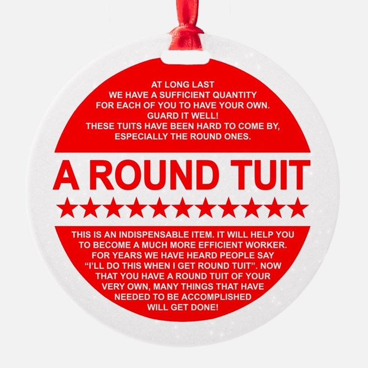 A Tuit Ornament