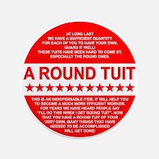 A Round Tuit Button