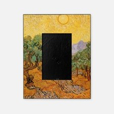 Van Gogh Olive Trees Yellow Sky Sun Picture Frame