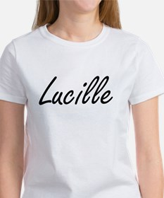 Lucille artistic Name Design T-Shirt