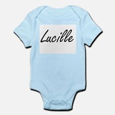 Lucille artistic Name Design Body Suit