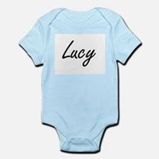 Lucy artistic Name Design Body Suit