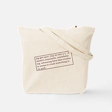 Cute Juggernaut Tote Bag