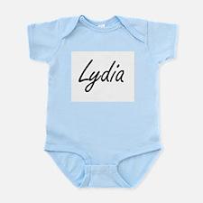 Lydia artistic Name Design Body Suit