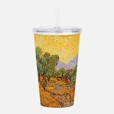 Van Gogh Olive Trees Y Acrylic Double-wall Tumbler