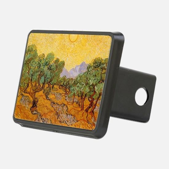 Van Gogh Olive Trees Yello Hitch Cover
