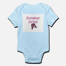 Retainer Artist Pink Infant Bodysuit