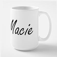 Macie artistic Name Design Mugs