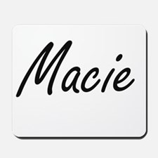 Macie artistic Name Design Mousepad
