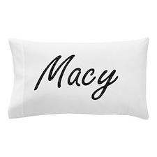 Macy artistic Name Design Pillow Case