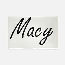 Macy artistic Name Design Magnets