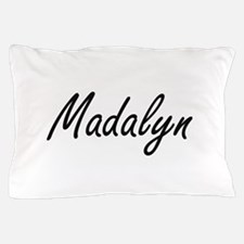 Madalyn artistic Name Design Pillow Case