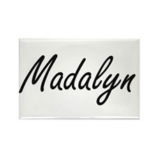 Madalyn artistic Name Design Magnets