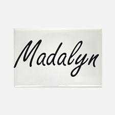 Madalyn artistic Name Design Magnets