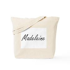 Madeleine artistic Name Design Tote Bag