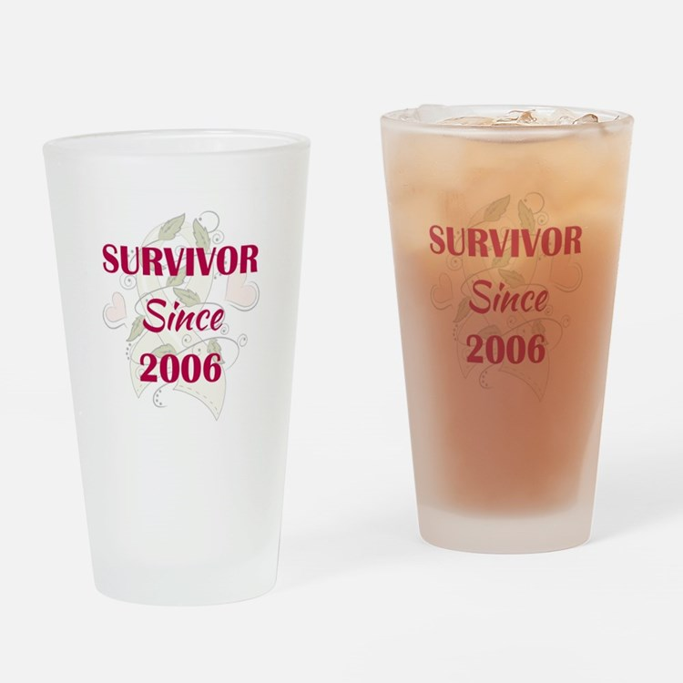SINCE 2006 Drinking Glass