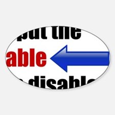 Unique Disabilities Decal