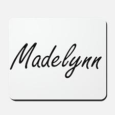 Madelynn artistic Name Design Mousepad
