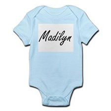 Madilyn artistic Name Design Body Suit