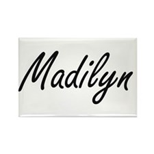 Madilyn artistic Name Design Magnets