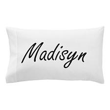 Madisyn artistic Name Design Pillow Case