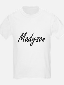 Madyson artistic Name Design T-Shirt