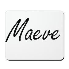 Maeve artistic Name Design Mousepad