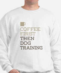 Coffee Then Dog Training Jumper