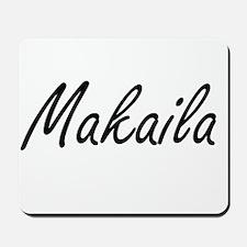 Makaila artistic Name Design Mousepad