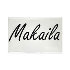 Makaila artistic Name Design Magnets