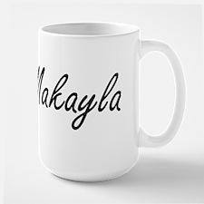 Makayla artistic Name Design Mugs