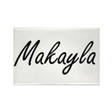 Makayla artistic Name Design Magnets