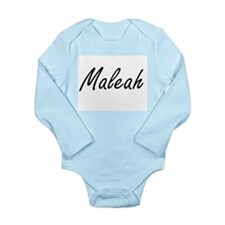 Maleah artistic Name Design Body Suit
