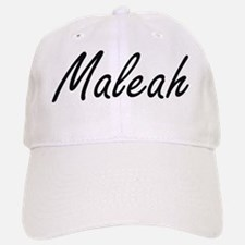 Maleah artistic Name Design Baseball Baseball Cap