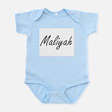 Maliyah artistic Name Design Body Suit