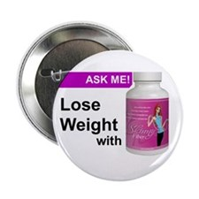 "Skinny Fiber Button 2.25"" Button (100 pack)"