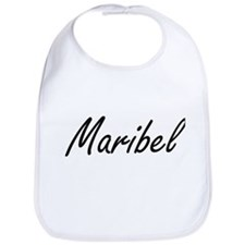 Maribel artistic Name Design Bib
