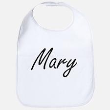 Mary artistic Name Design Bib