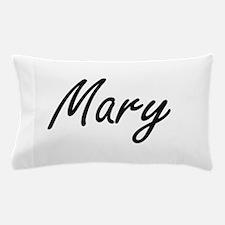 Mary artistic Name Design Pillow Case
