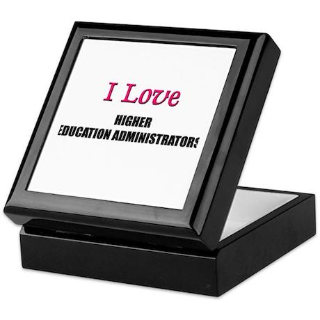 I Love My ACADEMIC LIBRARIAN Keepsake Box