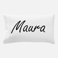 Maura artistic Name Design Pillow Case