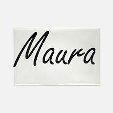 Maura artistic Name Design Magnets