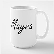 Mayra artistic Name Design Mugs