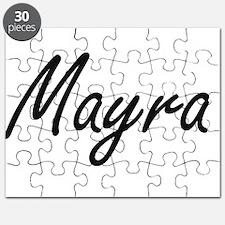 Mayra artistic Name Design Puzzle