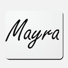 Mayra artistic Name Design Mousepad