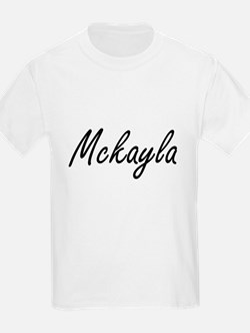 Mckayla artistic Name Design T-Shirt