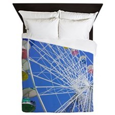 Knoebels Big Wheel Queen Duvet
