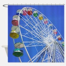Knoebels Big Wheel Shower Curtain