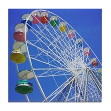 Knoebels Big Wheel Tile Coaster